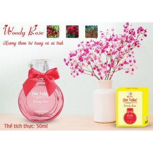 Nước Hoa Woody Rose One Today 50ml